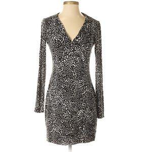 Diane Von Furstenberg Reina spotted dress